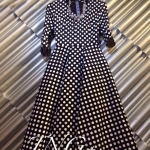 Polka Dot Dress autumn style