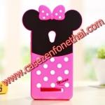 เคส zenfone 6 ซิลิโคน การ์ตูน 3D Minnie Mouse Cute Silicone Soft Case/Cover