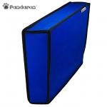 ผ้าคลุมกันฝุ่น (สีน้ำเงิน) ด้านในบุกำมะหยี่ ยี่ห้อ Pandaren :: สำหรับเครื่อง PS4 วางแนวตั้ง