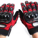 ถุงมือ Pro-Biker สีแดง