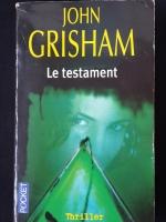 JOHN GRISHAM : Le testament
