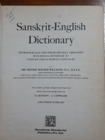 Sanskrit - English Dictionary : Sir Monier Monier - Williams