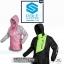 ชุดขี่มอเตอร์ไซค์ เสื้อกันฝน ยี่ห้อ PLOE สีเขียว ไซน์ XL สีดำ-เขียว thumbnail 4