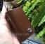 กระเป๋าซองหนังแท้ ใส่กุญแจรถยนต์ โลโก้ TOYOTA หนังลายไม้ สีน้ำตาล thumbnail 3