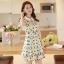 ชุดเดรสสั้นแฟชั่นเกาหลี พิมพ์ลายเก๋ๆ สีสดใส เหมาะกับการใส่เที่ยวสบาย หรือ จะใส่ไปงานเลี้ยง จะทำให้คุณดูสวย สง่า มั่นใจ thumbnail 2