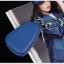 กระเป๋าซองหนังแท้ ใส่กุญแจรีโมทรถยนต์ สีสันสดใส สไตล์เกาหลี thumbnail 4