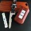 กรอบ-เคส ใส่กุญแจรีโมทรถยนต์ Mitsubishi Mirage,Attrage,Triton,Pajero ABS Smart Key 2,3 ปุ่ม ลายไม้ thumbnail 5