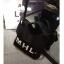 กระเป๋าถุงผ้าถือ สะพายใหล่ สไตล์เกาหลี แบบน่ารักๆ LOGO MHL สี ดำ - ขาว thumbnail 9