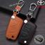 ซองหนังแท้ ใส่กุญแจรีโมทรถยนต์ Toyota Hilux Revo,New Altis 2014-17 พับข้าง 3 ปุ่ม thumbnail 2