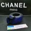 เข็มขัดหลุยส์ Louis Vuitton 2014 New Original Gold Buckle Men Belt Blue thumbnail 7