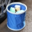 ถังใส่น้ำ ล้างรถยนต์ อเนกประสงค์ แบบพับได้ พกพาสะดวก (สีแดง,สีฟ้า) thumbnail 8