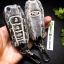 ซองหนังแท้ ใส่กุญแจรีโมทรถยนต์ All New Ford Ranger,Everest 2015-16 รุ่นลายไม้พับข้าง สีดำ thumbnail 6