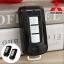 กรอบ-เคส ใส่กุญแจรีโมทรถยนต์ Mitsubishi Mirage,Attrage,Triton,Pajero ABS Smart Key 2,3 ปุ่ม สีดำเงา thumbnail 1
