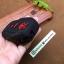 ปลอกซิลิโคน หุ้มกุญแจรีโมทรถยนต์ Toyota Fortuner/Camry 2015-17 Smart Key 4 ปุ่ม สีดำ/แดง thumbnail 8