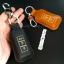 กระเป๋า ซองหนังแท้ ใส่กุญแจรีโมทรถยนต์ Mitsubishi Mirage,Attrage,Triton,Pajero รุ่นกระดุมแป๊ก thumbnail 5