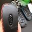 ซองหนังแท้ ใส่กุญแจรีโมทรถยนต์ รุ่นด้ายสีคลาสสิค All New Ford Ranger,Everest 2015-18 thumbnail 7