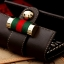 กระเป๋าพวงกุญแจ Gucci กุชชี่ ลายใหม่ คุณภาพเป็นเลิศ สี น้ำตาล - ขาว (Pre) thumbnail 5
