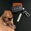 ซองหนังแท้ ใส่กุญแจรีโมทรถยนต์ รุ่นเรืองแสง Toyota Fortuner/Camry Hybrid Smart Key 4 ปุ่ม thumbnail 11