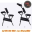 เก้าอี้สักลาย เก้าอี้นั่งสัก เก้าอี้พับได้ เก้าอี้พกพา สำหรับการสัก นวด สปา Foldable Portable Massage Tattoo Spa Chair (สีดำ BLACK) thumbnail 6