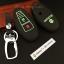 ซองหนังแท้ ใส่กุญแจรีโมทรถยนต์ รุ่นด้ายสีเรืองแสง ใหม่ All New Suzuki Swift,Ciaz thumbnail 3
