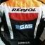 ชุดขี่มอเตอร์ไซค์ เสื้อแจ็คเก็ต เสื้อการ์ด Repsol ไซส์ XL,2XL สีส้ม-แดง thumbnail 3