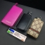 กระเป๋าซองหนัง ใส่กุญแจรีโมทรถยนต์ รุ่นซิบรอบ พิมพ์ลายโลโก้ Gucci thumbnail 10
