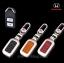 NEW กรอบ_เคส ใส่กุญแจรีโมทรถยนต์ รุ่นโคเมียม HONDA HR-V,CR-V,BR-V,JAZZ Smart Key 2 ปุ่ม thumbnail 3