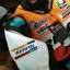 ชุดขี่มอเตอร์ไซค์ เสื้อแจ็คเก็ต เสื้อการ์ด Repsol ไซส์ XL,2XL สีส้ม-แดง thumbnail 2