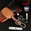 ซองหนังแท้ ใส่กุญแจรีโมทรถยนต์ ISUZU D-Max X-Series รุ่นดอกกุญแจ thumbnail 1