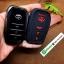 ปลอกซิลิโคน หุ้มกุญแจรีโมทรถยนต์ Toyota Hilux Revo กุญแจอัจฉริยะ 3 ปุ่ม สีดำ/แดง thumbnail 8