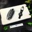 กรอบ-เคส ใส่กุญแจรีโมทรถยนต์ Nissan March,X-Trail,Navara,Juke,Pulsar Smart Key 3 ปุ่ม รุ่นเรืองแสง สี ดำ/เงิน thumbnail 8