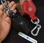 ซองหนังแท้ ใส่กุญแจรีโมทรถยนต์ รุ่นป้ายเงิน Mercedes Benz สี ดำ,แดง คุณภาพเยี่ยม thumbnail 9