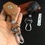 ซองหนังแท้ ใส่กุญแจรีโมทรถยนต์ รุ่นดอกกุญแจโลโก้เหล็ก Suzuki Swift,Ciaz แบบใหม่ thumbnail 8