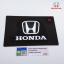 แผ่นยางกันลื่น ถาดรอง ติดคอนโซลรถยนต์ สไตล์ Vip โลโก้ Honda,Mazda สีดำ thumbnail 2