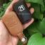 ซองหนังแท้ ใส่กุญแจรีโมทรถยนต์ New Honda Freed รุ่นโลโก้เหล็ก H-เงิน thumbnail 10