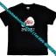 เสื้อ T-shirt คอกลมแขนสั้น RSL พิมพ์ลายตัวหนังสือแท้ 100 % (สีดำ) thumbnail 2