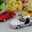 โมเดล รถเหล็กคลาสสิก แบบต้นฉับบ Mercedes - Benz สี แดง - ขาว - เหลือง thumbnail 1