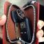 กระเป๋าซองหนังแท้ ใส่กุญแจรีโมทรถยนต์ โลโก้ Toyota - Volkswagen สี ดำ/แดง thumbnail 9