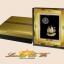 ของพรีเมี่ยม กรอบหลุยส์ลายเรือสำเภาพร้อมกล่องผ้าไหม (ขนาด : 13 x 15 นิ้ว ) thumbnail 3