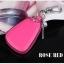กระเป๋าซองหนังแท้ ใส่กุญแจรีโมทรถยนต์ สีสันสดใส สไตล์เกาหลี thumbnail 2