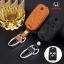 ซองหนังแท้ ใส่กุญแจรีโมทรถยนต์ หนัง Hi-End Honda Civic FB,Accord G8 รุ่น พับข้าง 3 ปุ่ม thumbnail 2