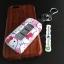 กรอบ-เคส ใส่กุญแจรีโมทรถยนต์ Mitsubishi Mirage,Attrage,Triton,Pajero ABS Smart Key ลาย Kitty thumbnail 5