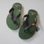 รองเท้าแตะ ผู้ชาย Abercrombie & Fitch สีเขียวเข้ม ไซส์ 41 - 43 thumbnail 1