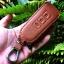 กระเป๋า,ซองหนังแท้ ใส่กุญแจรีโมทรถยนต์ Mitsubishi Mirage,Attrage,Triton,Pajero รุ่นซิบรอบ (แบบใหม่) thumbnail 10
