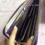 กระเป๋าสตางค์ Prada หนัง Saffiano Zippy งาน Top Mirror สีม่วง (Pre) thumbnail 14