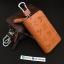 กระเป๋าซองหนังแท้ ใส่กุญแจรีโมทรถยนต์ รุ่นซิบรอบ พิมพ์ลาย Channel thumbnail 3