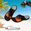 รองเท้าแตะ สำหรับท่าน ผู้ชาย สี ส้ม/ดำ thumbnail 1
