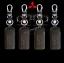 ซองหนังแท้ ใส่กุญแจรีโมทรถยนต์ รุ่นด้ายสี-หนังนิ่ม Mitsubishi Mirage,Attrage,Triton,Pajero thumbnail 3