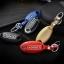 กรอบ-เคส ใส่กุญแจรีโมทรถยนต์ Nissan March,X-Trail,Navara,Juke,Pulsar Smart Key 3 ปุ่ม รุ่นเรืองแสง สี ดำ/เงิน thumbnail 11