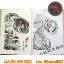 [HALF SLEEVE] หนังสือลายสักครึ่งแขน หนังสือสักลาย รูปลายสักสวยๆ รูปรอยสักสวยๆ สักลายสวยๆ ภาพสักสวยๆ แบบลายสักเท่ๆ แบบรอยสักเท่ๆ ลายสักกราฟฟิก Colorful Half Sleeve Tattoo Manuscripts Flash Art Design Outline Sketch Book (A4 SIZE) thumbnail 12